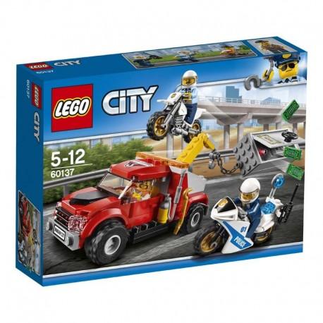Lego® 60137 Camión Grúa en Problemas