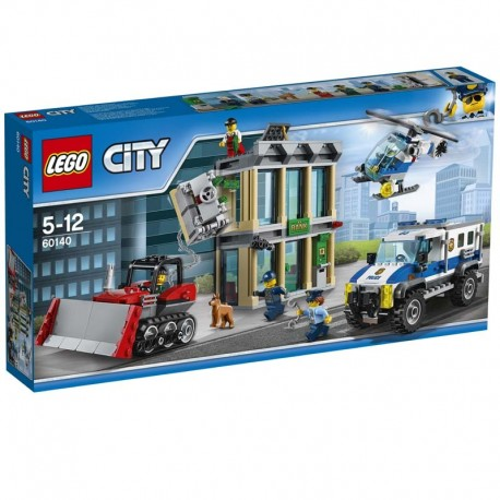Lego® 60140 Huida con Bulldozer