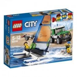 Lego® 60149 4 x 4 con Catamarán