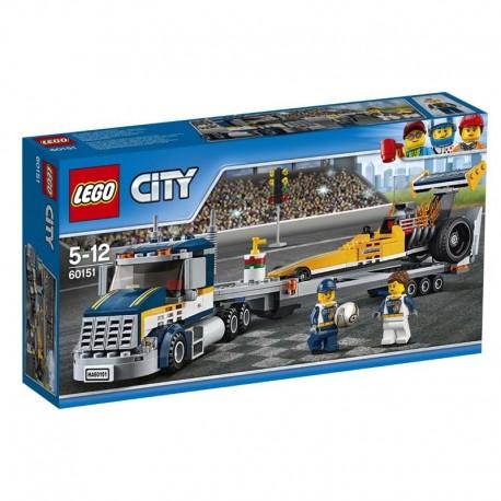 Lego® 60151 Transportador del Dragster