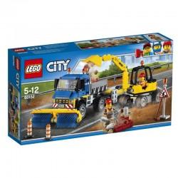 Lego® 60152 Barredora y Excavadora