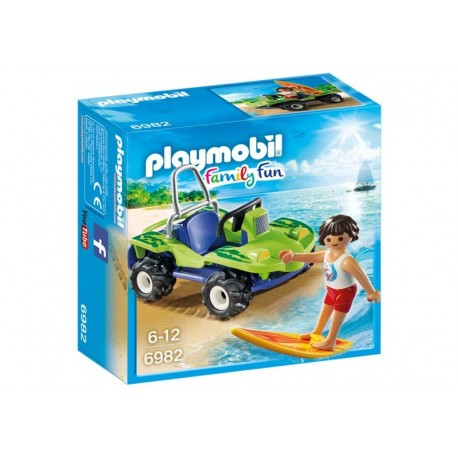 Playmobil® 6982 Surfista con Quad