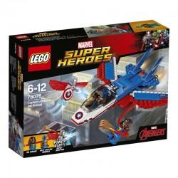 Lego® 76076 Jet del Capitán América