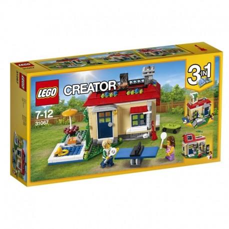 Lego® 31067 Casa Modular con Piscina