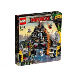 Lego® 70631 Guarida volcánica de Garmadon