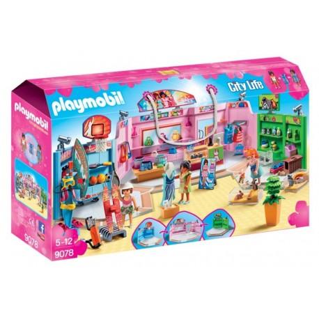 Playmobil® 9078 Paseo Comercial con 3 Tiendas