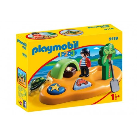 Playmobil® 9119 Isla Pirata 1.2.3.