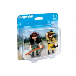 Playmobil® 9217 Duo Pack Ranger y Cazador Furtivo