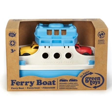 Green Toys® Ferry con Minicoches
