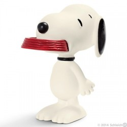 Schleich® 22001 Snoopy con su Comedero