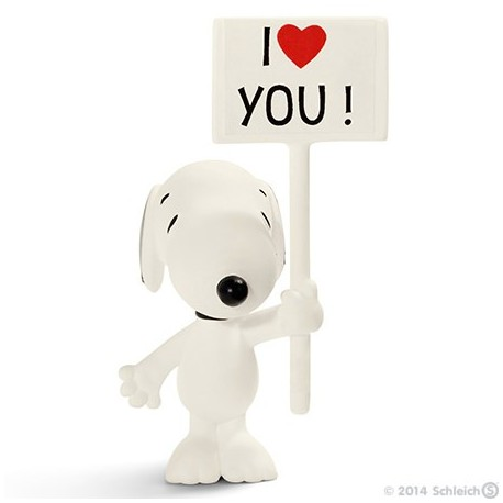 Schleich® 22006 Snoopy I Love You