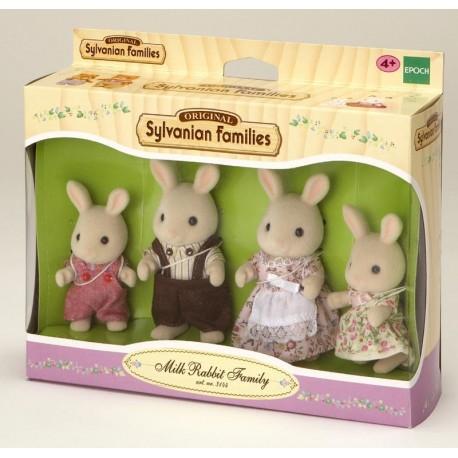 Familia Conejos Blancos