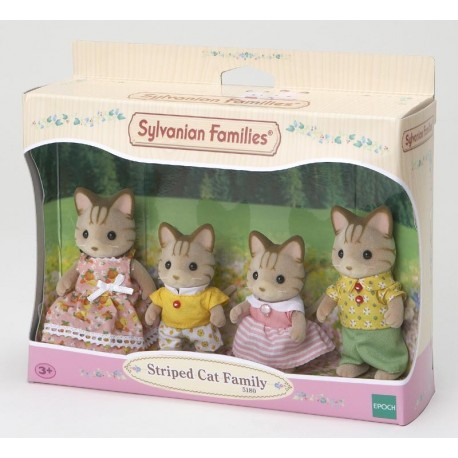 SF 5180 Familia Gatos Rayas