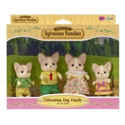 Familia Perros Chihuahua