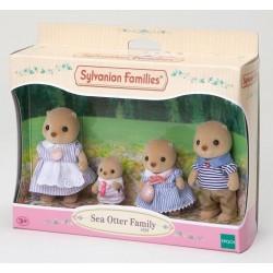 Familia Nutrias del Mar