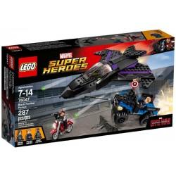 Lego® 76047 A la Caza de Pantera Negra