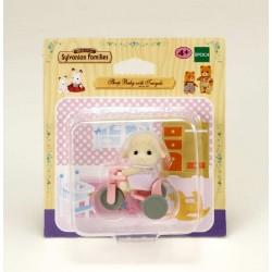 Bebé Oveja con Triciclo
