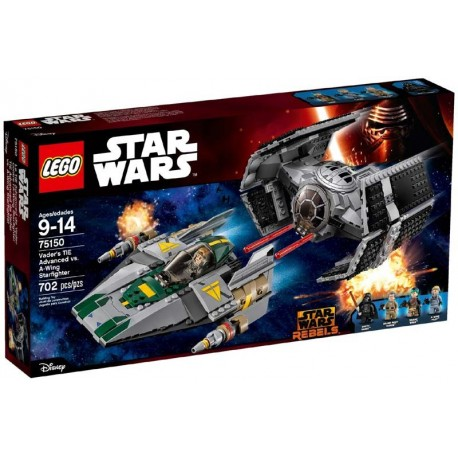 Lego® 75150 TIE Advanced de Vader vs. A-Wing Starfighter