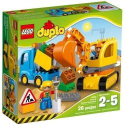 Lego® 10812 Camión y Excavadora con Orugas