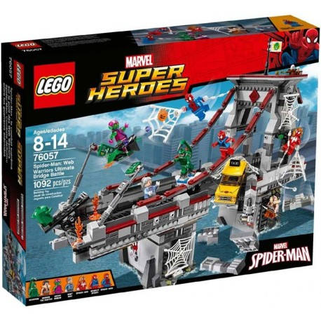 Lego® 76057 Spider-Man: Combate Definitivo entre los Guerreros Arácnidos