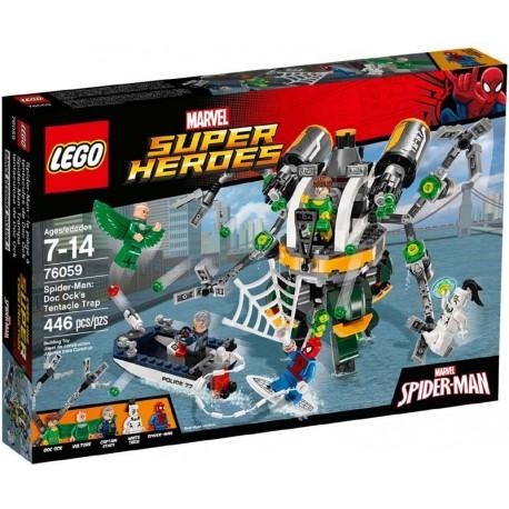 Lego® 76059 Spider-Man: Trampa tentaculosa de Doc Ock