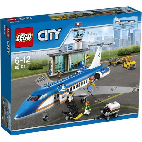 Lego® 60104 Aeropuerto: Terminal de Pasajeros