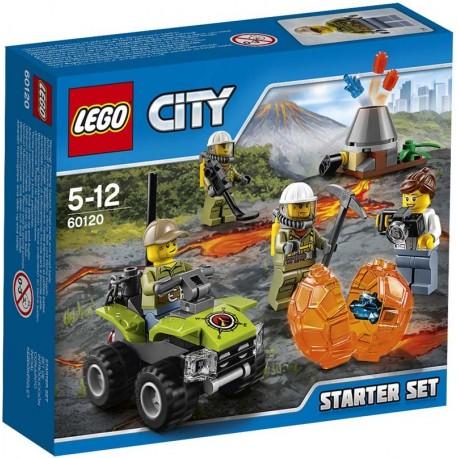 Lego® 60120 Volcán: Set de Introducción