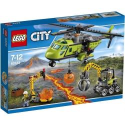 Lego® 60123 Volcán: Helicóptero de Suministros