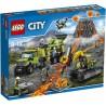 Lego® 60124 Volcán: Base de Exploración
