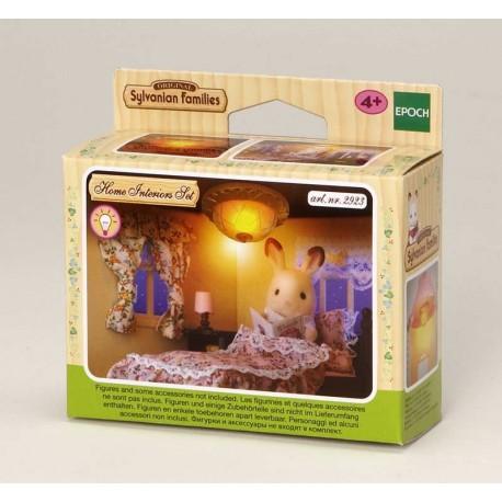 Sylvanian Families Set cortinas y Luz