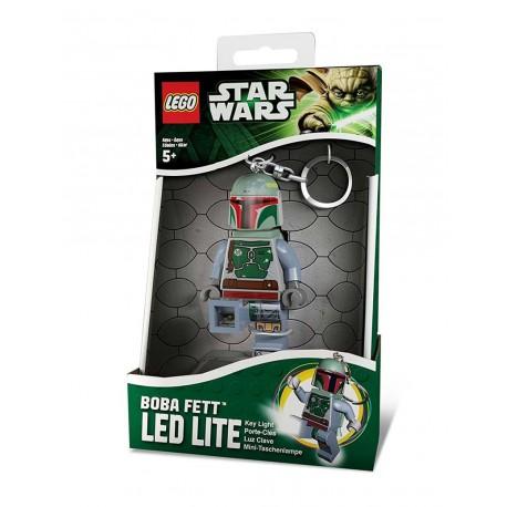Llavero con Luz Led Lego® Boba Fett