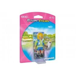 Playmobil® 6830 Cuidadora con Cacatúa