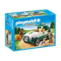 Playmobil® 6812 Gaurdabosqes con Pick-Up