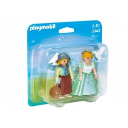 Playmobil® 6843 Duo Pack Princesa y Granjera