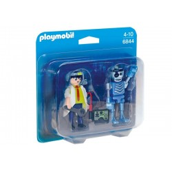 Playmobil® 6844 Duo Pack Científico y Robot