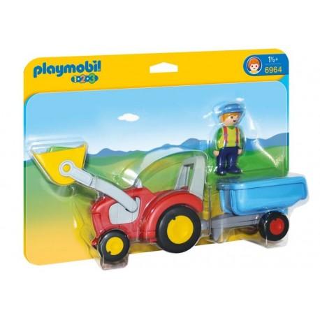 Playmobil® 6964 Tractor con Remolque