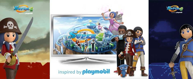 Playmobil® Super 4 en Hola Caracola