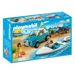 Playmobil® 6864 Pick Up con Lancha