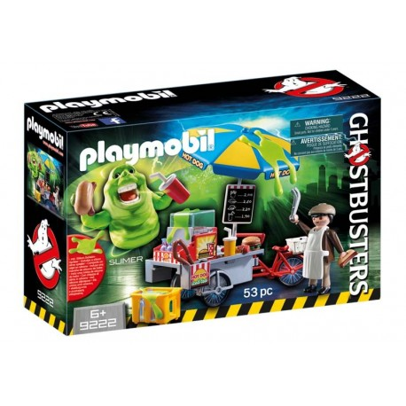 Playmobil® 9222 Slimer con Stand de Hot Dog