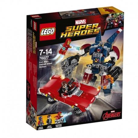 Lego® 76077 Iron Man: el Ataque de Acero de Detroit