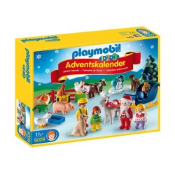 "Playmobil® 9009 Calendario de Adviento 1.2.3. ""Granja de Animales"""
