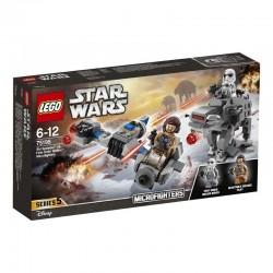 Lego® 75195 Speeder Esquiador vs. Caminante de la Primera Orden