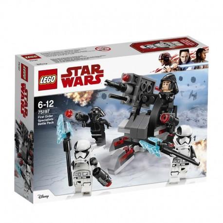 Lego® 75197 Pack de Combate de Especialistas de la Primera Orden