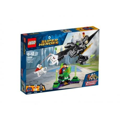 Lego® 76096 Superman™ y Krypto™: Equipo de Superhéroes