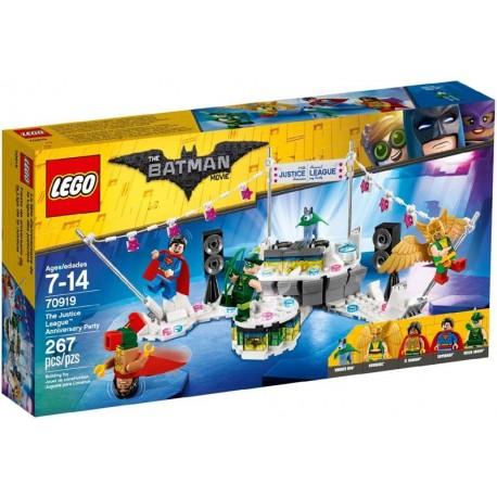 Lego® 70919 Fiesta de Aniversario de la Liga de la Justicia