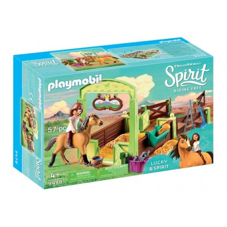 Playmobil® 9478 Establo Lucky y Spirit
