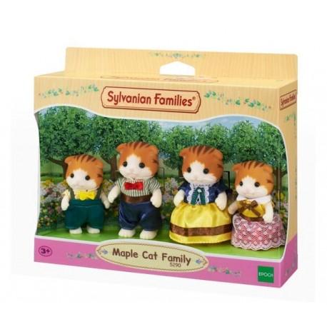 Sylvanian Families 5290 Familia de Gatos Maple