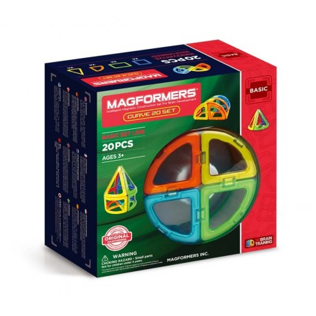 Magformers® 20 Curve Set