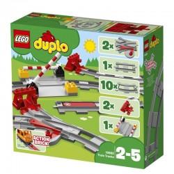 Lego® 10882 Vías Ferroviarias