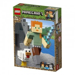 Lego® 21149 BigFig Minecraft: Alex con Gallina